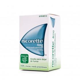 Nicorette 4 mg (105 chicles) | Farmacia Tuset