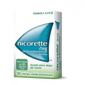 Nicorette 2 mg (30 chicles) | Farmacia Tuset