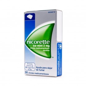 Nicorette Ice Mint 2 mg (30 chicles) | Farmacia Tuset