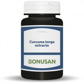 Bonusan Curcuma Longa Extracto (60 cápsulas) | Farmacia Tuset