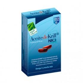 Aceite de Krill NKO - Cien por Cien Natural (40 cápsulas) | Farmacia Tuset