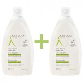 A-derma Gel Ducha Hidraprotector Duplo (2 x 500 ml) | Farmacia Tuset