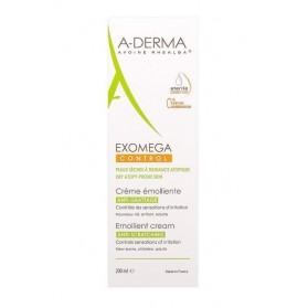A-derma Exomega Control Crema Emoliente (200 ml) | Farmacia Tuset