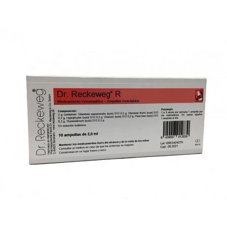 Dr  Reckeweg R7 Hepagalen (10 ampollas) | Farmacia Tuset