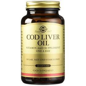 Solgar Aceite Hígado Bacalao (250 cápsulas) | Farmacia Tuset