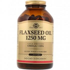 Solgar Aceite de Linaza 1250 mg (100 cápsulas) | Farmacia Tuset