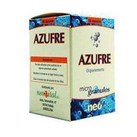 Azufre Neo 50 cápsulas | Farmacia Tuset