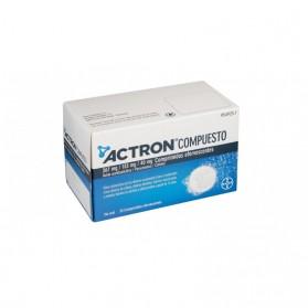 Actron Compuesto (20 comprimidos efervescentes) | Farmacia Tuset