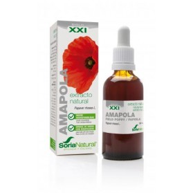 Soria Natural Amapola Extracto S XXI 50 ML | Farmacia Tuset