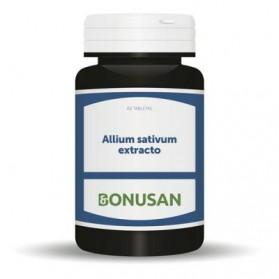 Bonusan Allium Sativum extracto 60 cápsulas   Farmacia Tuset