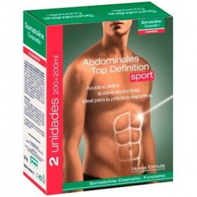 Somatoline Hombre Abdominales Top Definition Sport (2x200 ml) | Farmacia Tuset