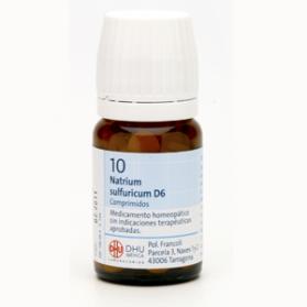 DHU SALES SCHUSSLER 10 NATRIUM SULFURICUM 80C.