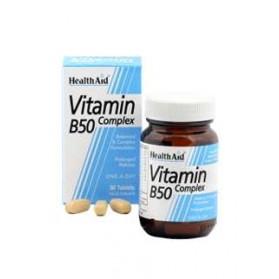 HEALTH AID B50 COMPLEX 30 COMPRIMIDOS