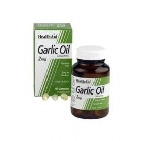 HEALTH AID ACEITE DE AJO 2MG 60 VEGICAPS