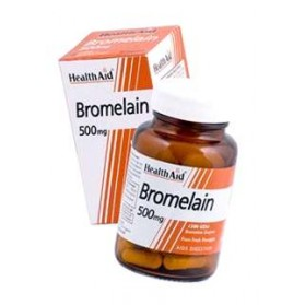 HEALTH AID BROMELINA 500MG 30 VEGICAPS