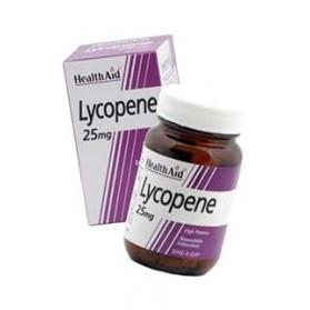 HEALTH AID LICOPENO 25MG 30 COMPRIMIDOS