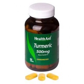 HEALTH AID TURMERIC H.A.(CURCUMA) 60 COMPRIMIDOS