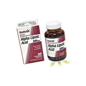 HEALTH AID ACIDO ALFA LIPOICO 60 VEGICAPS