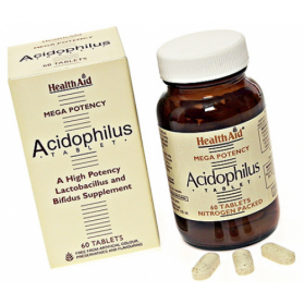 HEALTH AID ACIDOPHILUS MEGA POTENCY 60 COMP