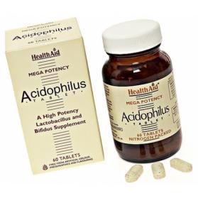 HEALTH AID ACIDOPHILUS MEGA POTENCY 60 COMP
