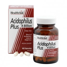 HEALTH AID ACIDOPHILUS PLUS 60 VEGICAPS