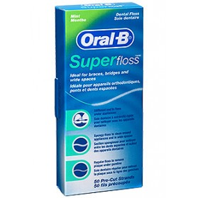 SEDA DENTAL ORAL-B SUPER FLOSS  50U