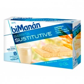 BIMANAN SUSTITUTIVE BARRITAS YOGUR 8 UDS