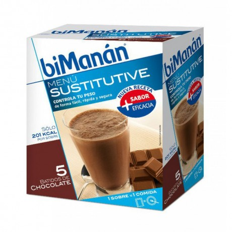 BIMANAN BATIDO CHOCOLATE 5+1 SOBRES 300GR
