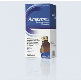 ALMAX 1 G/7.5 ML SUSPENSION ORAL 225 ML