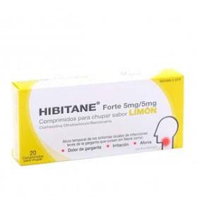 HIBITANE 5/5 MG 20 COMPRIMIDOS  LIMON
